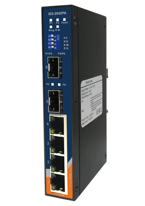 Switch 6 p slim lm IES-2042PA