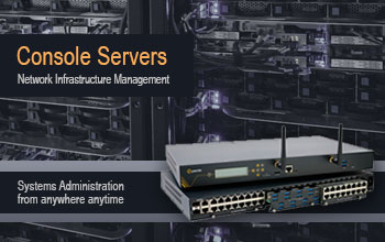 console server banner A